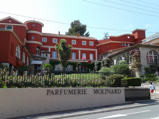 maison molinard parfumerie grasse cote d'azur vacances famille visiter