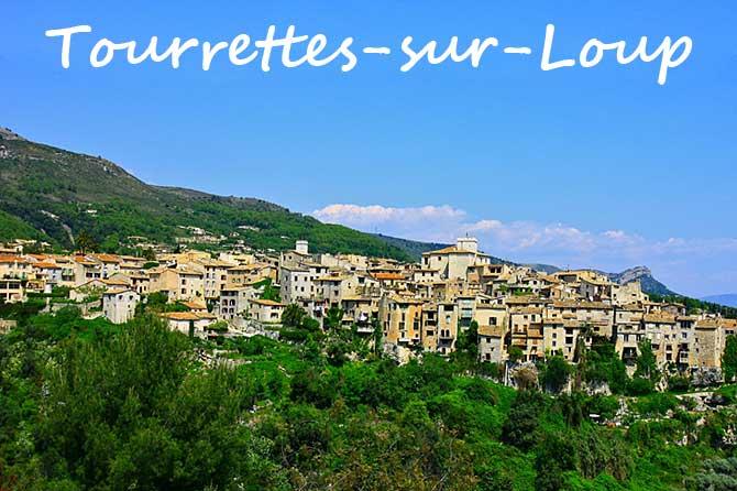 Tourrettes sur Loup village perche paca plus beaux villages france blog