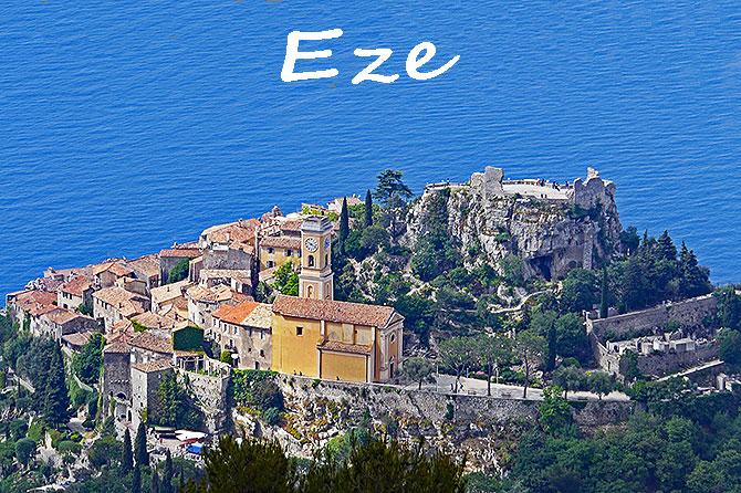 eze village perche cote d azur plus beaux villages france blog