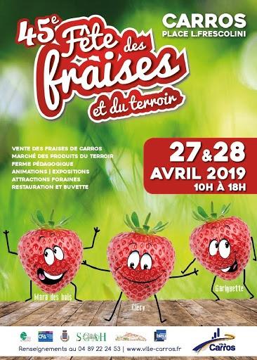 fete fraises carros terroir agenda festivites cote d azur 06