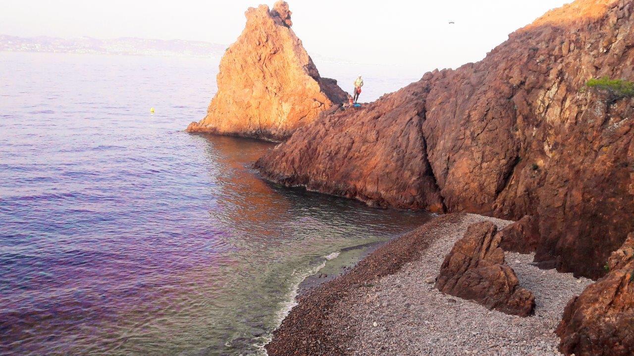 plus belles plages 06 theoule pointe aiguille blog
