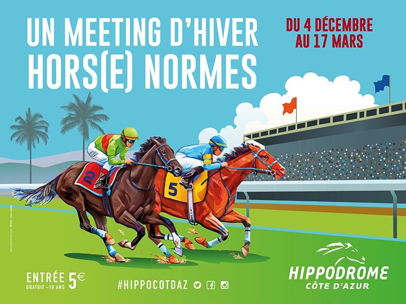courses hippodrome cagnes meeting hiver cote d azur agenda