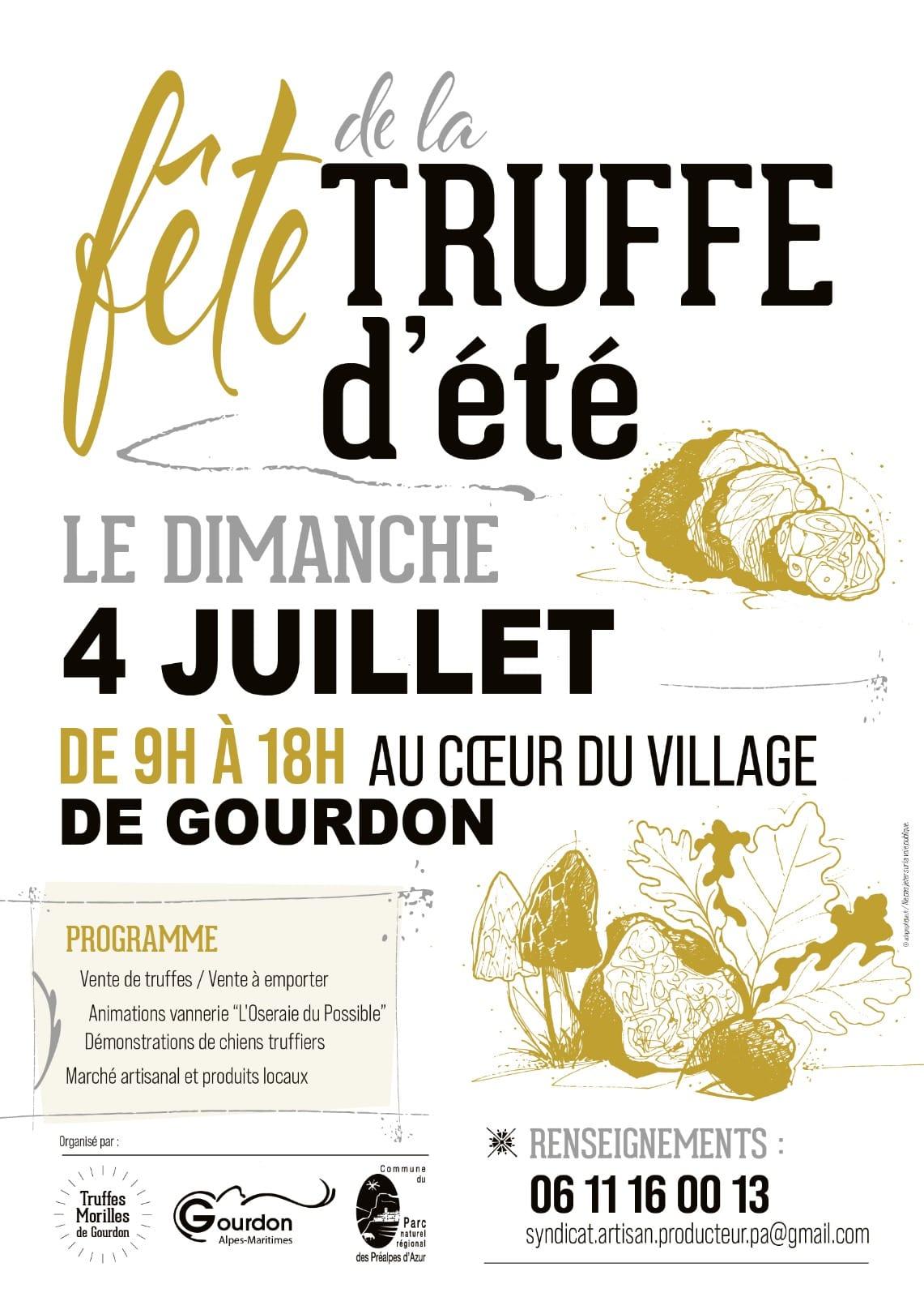 fete truffe ete gourdon animation marche agenda evenements 06