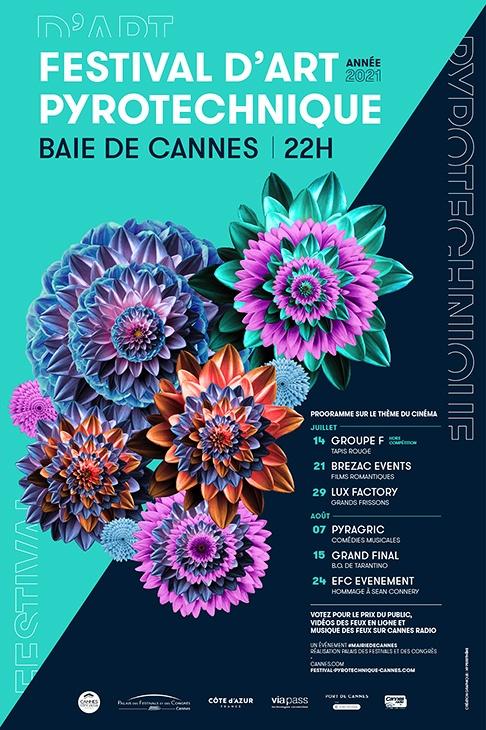 festival art pyrotechnique cannes agenda