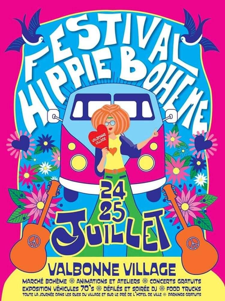 valbonne festival hippie boheme spectacles agenda manifestations evenements cote d azur agenda